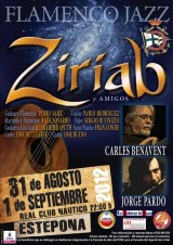 Cartel Recital Ziriab